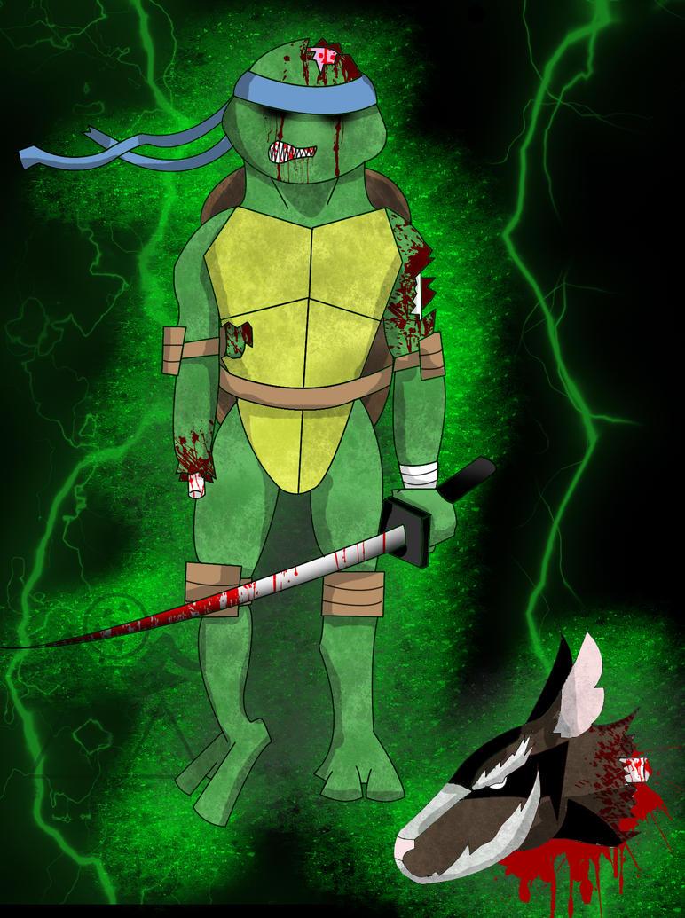Zombie Leonardo by Goatcookie