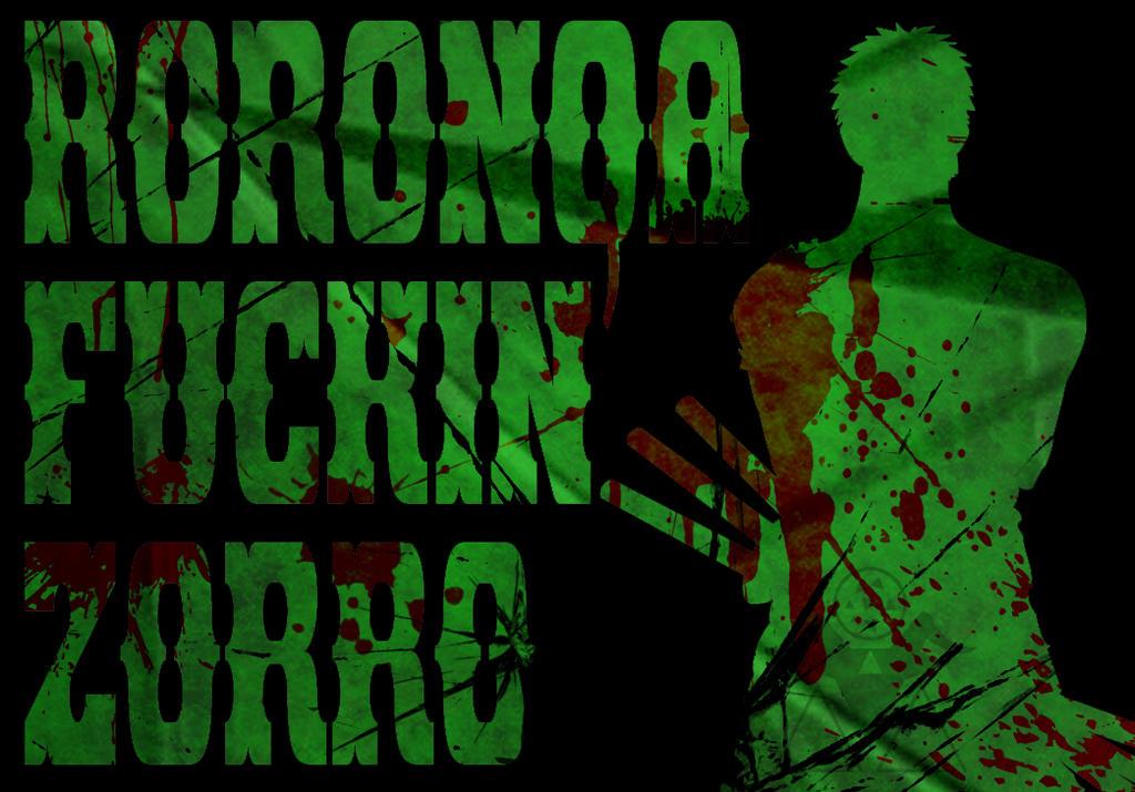 Roronoa Zorro by Goatcookie