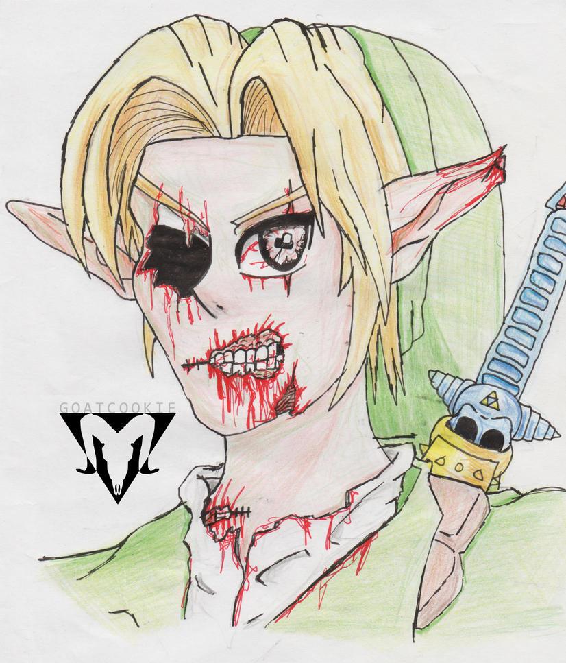 Zombie Link by Goatcookie