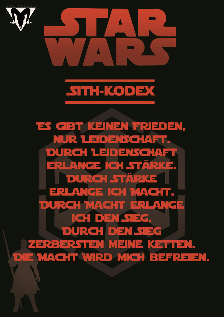 Sith-Kodex (German) by Goatcookie