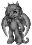 F2U Furvilla Paintie - Horse Pegasus