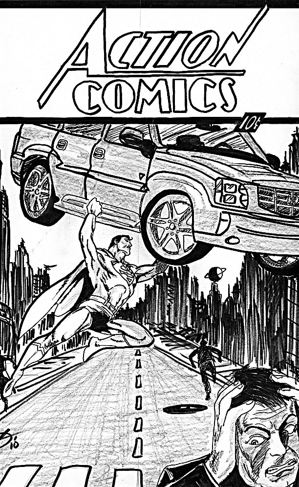 Action Comics 1-redo by ajdichart on DeviantArt