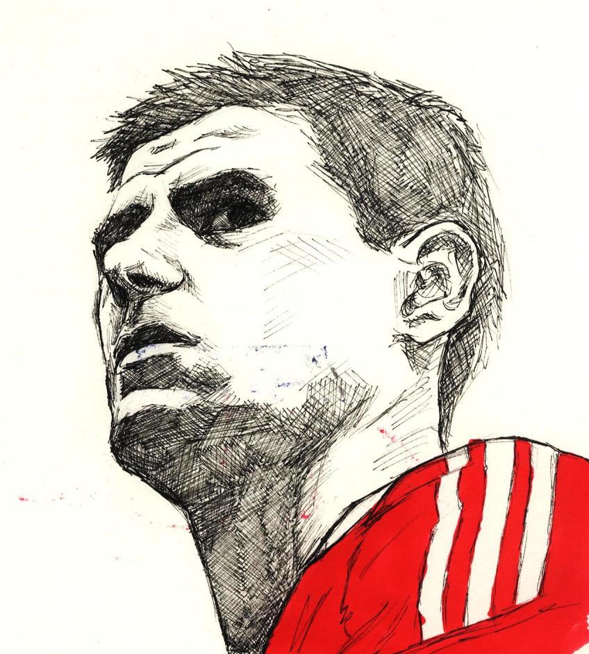 Steven Gerrard by Gahlaktuss