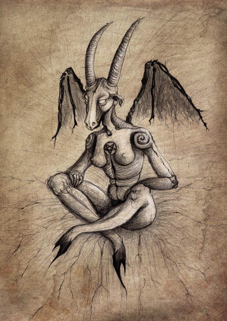 My adored baphomet by MercuriusSublimatus