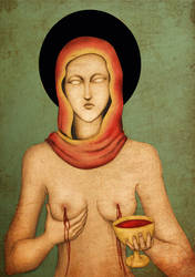 Unholy Blood Mother by MercuriusSublimatus