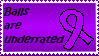 Testicular Cancer Awareness stamp