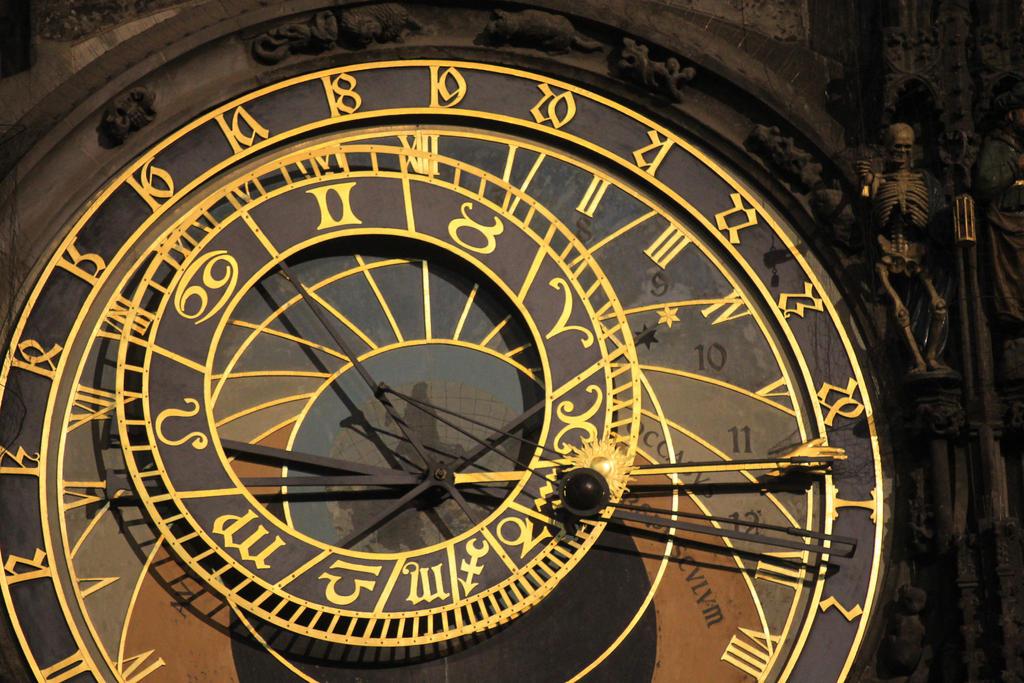 Prague Astronomical Clock by Ivusak