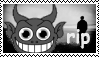 rip gay satan stamp by ADDICTEDTOSANDWICHES