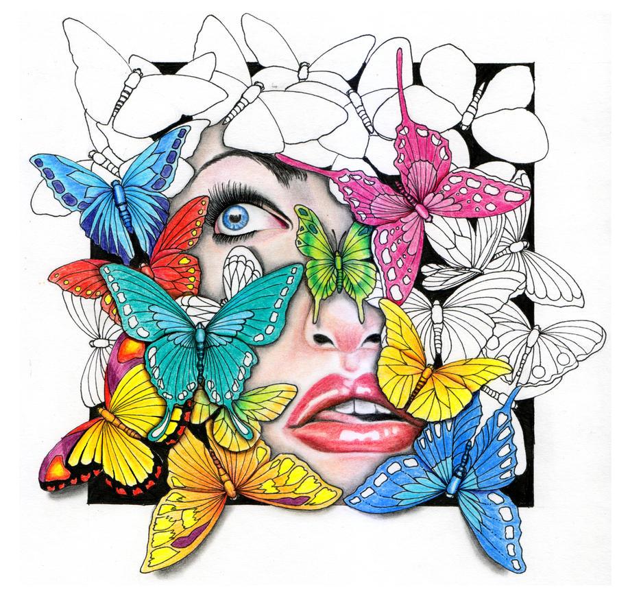 Butterfly ( Kupu-kupu ) by fahsya