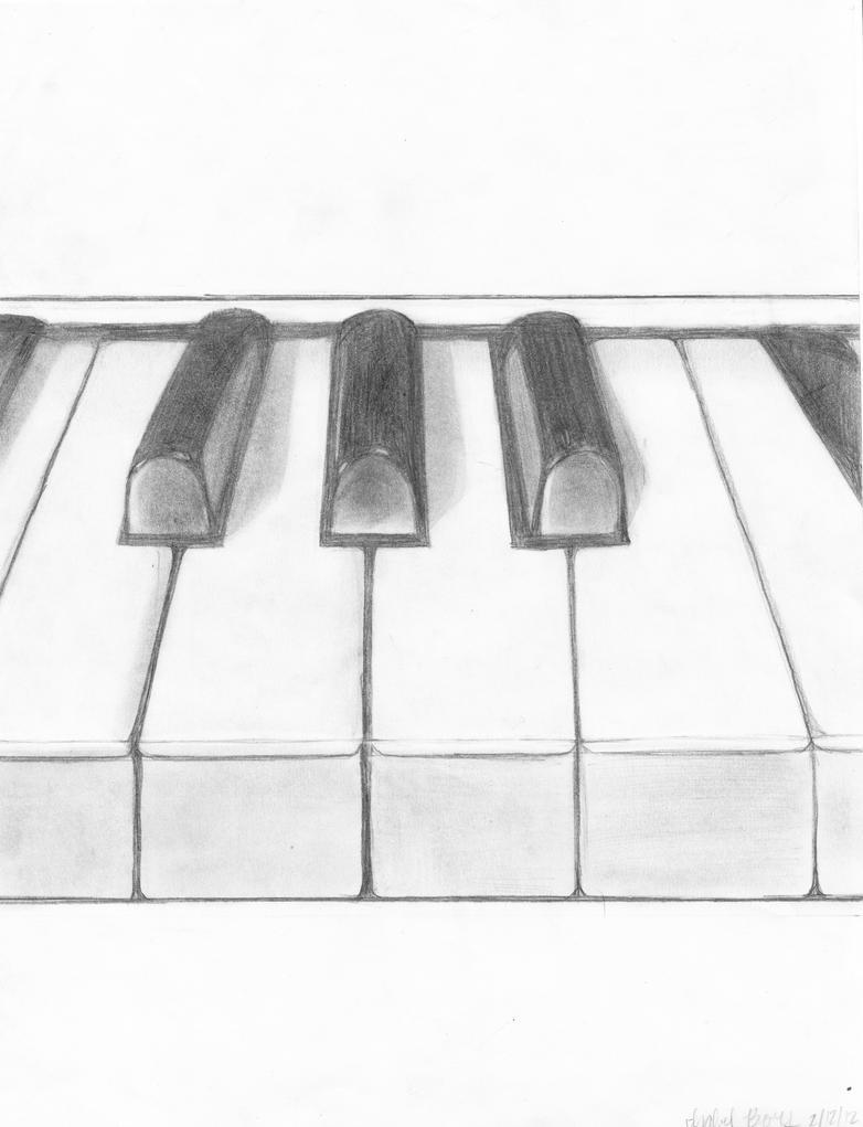 Piano by izzibear99