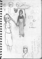 Kenshii + sketchpage by vampiress-kat