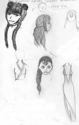Mini-sketchdump by vampiress-kat