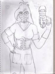 Agatha fanart WIP by vampiress-kat