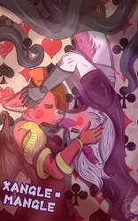 Valentine's day: Xangle and Mangle by Mangle-Kiss