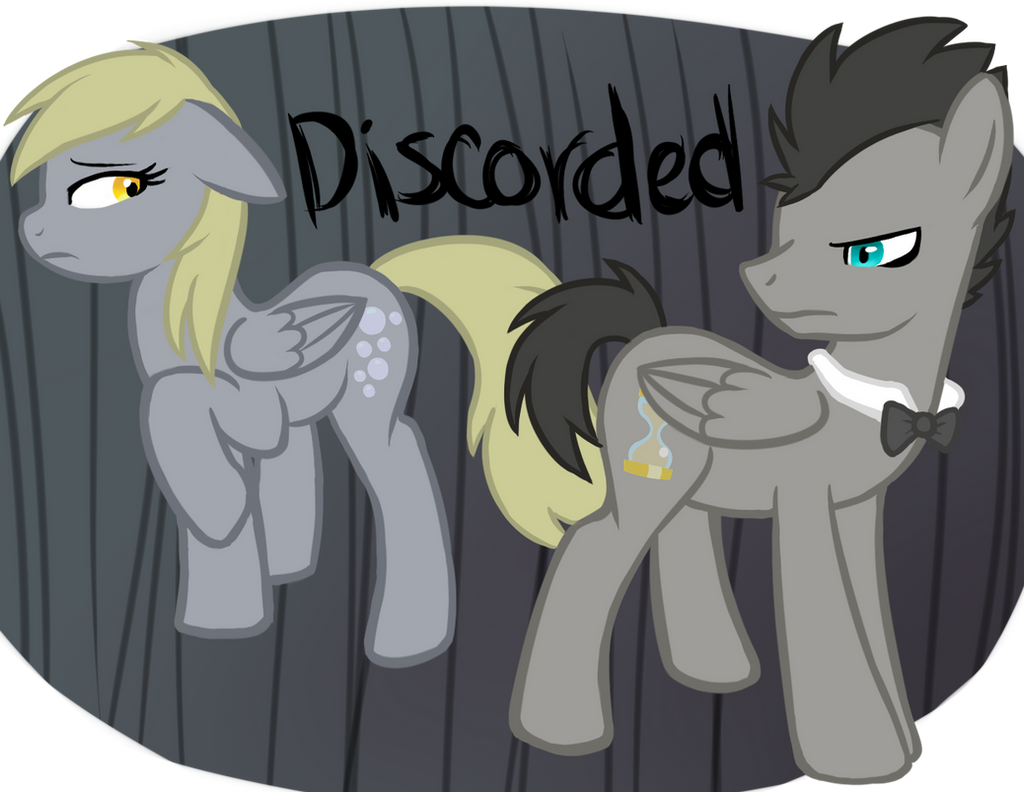 Derpy Hooves and Discorded Doctor Whooves
