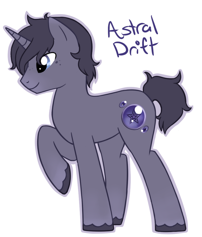 MLP OC- Astral Drift by Fire-Girl872