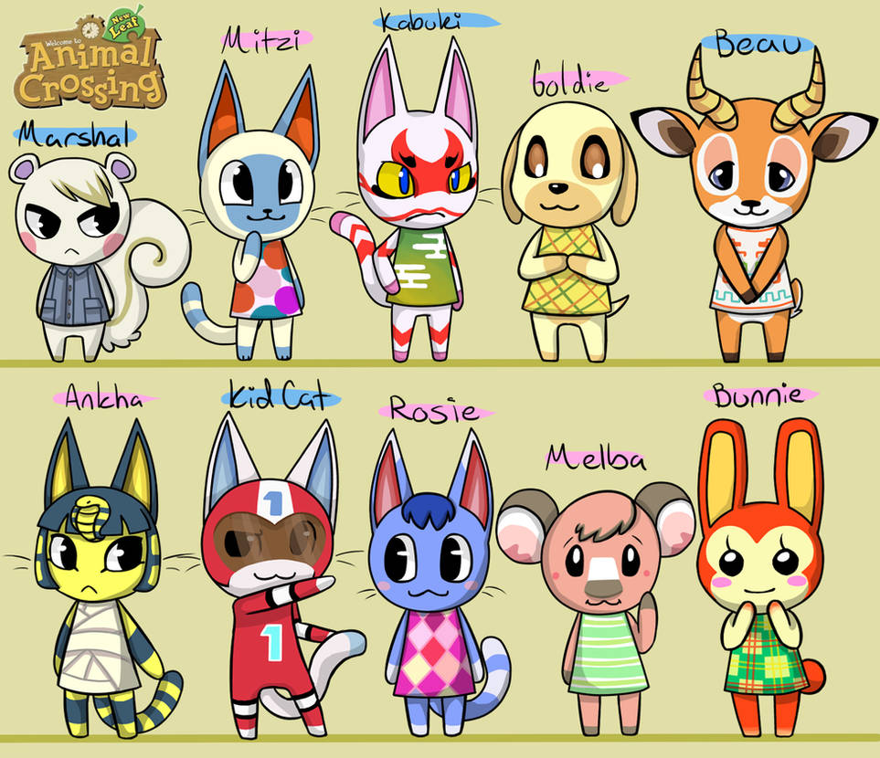 Cats Animal Crossing New Leaf