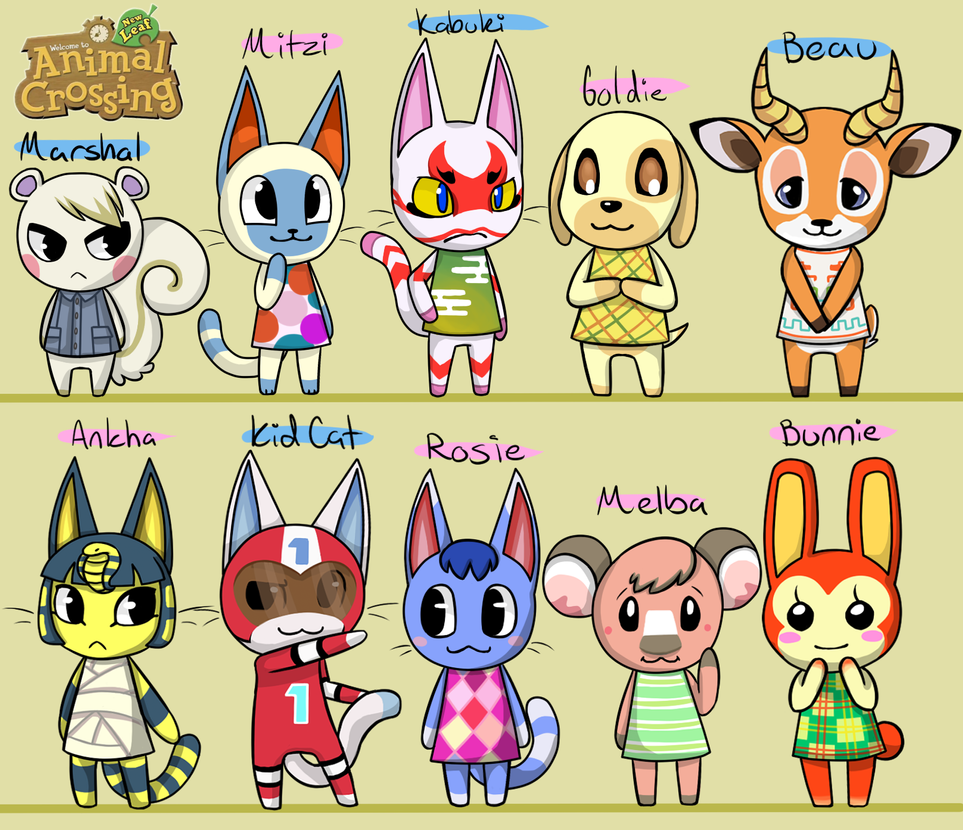 Animal crossing new leaf village parade by fire girl872 for Animal crossing new leaf arredamento