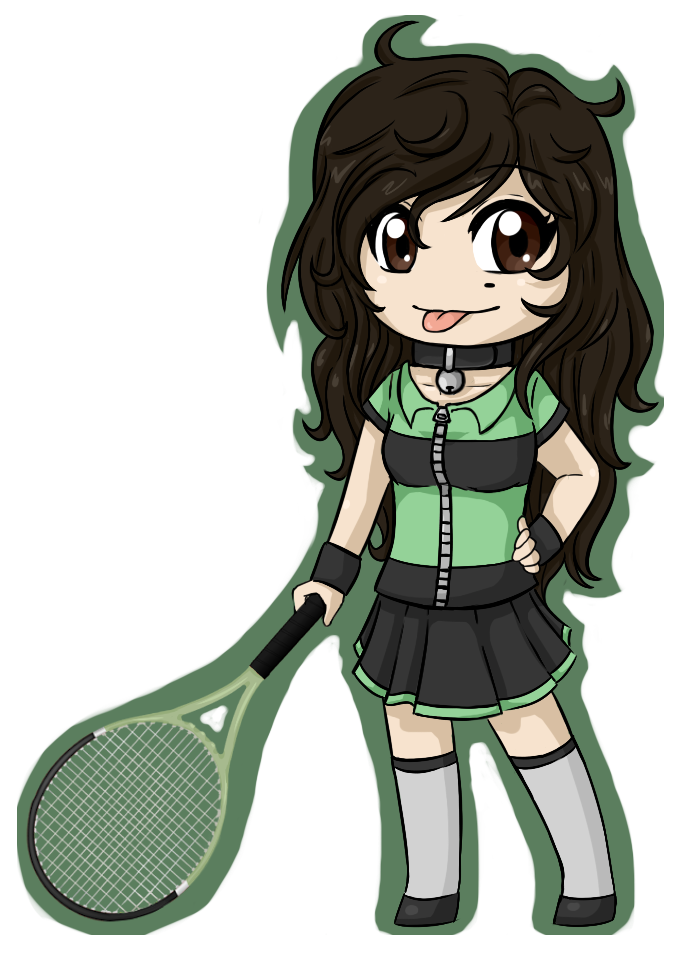 Tennis Kitty by Fire-Girl872
