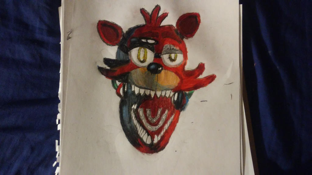 foxy the pirate fox  by Th3Tur3GodMrbl3ach