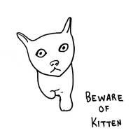 Beware of Kitten by mysticmadman