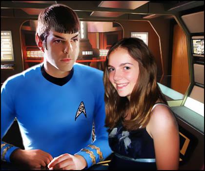 Spock meet Chloe