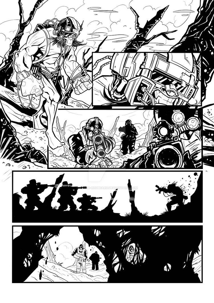 Wolverine page1 by Faber-RedBeard