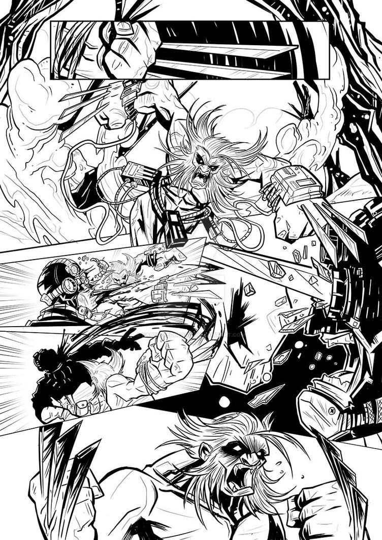 Wolverine page2 by Faber-RedBeard