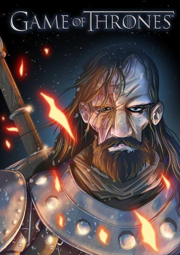 Sandor Clegane by Faber-RedBeard