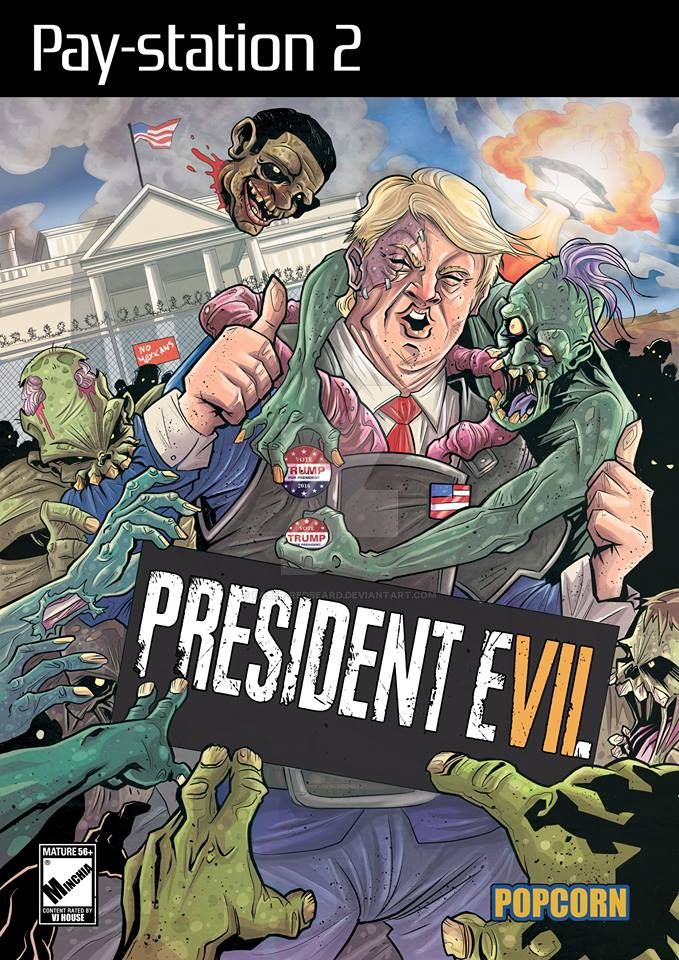 President Evil by Faber-RedBeard
