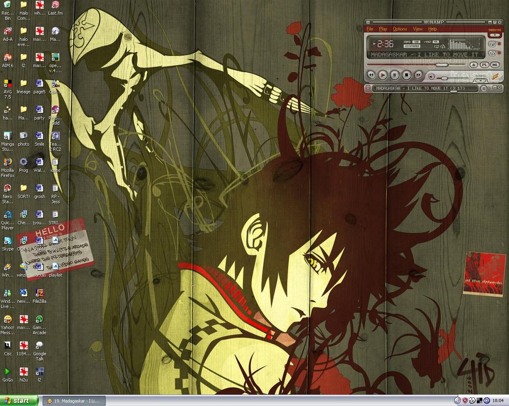 Desktop, 06 - KH2: Roxas by AoiNoKitsune
