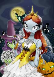 Sally,Pumpkin Queen 4 500pvs by AoiNoKitsune