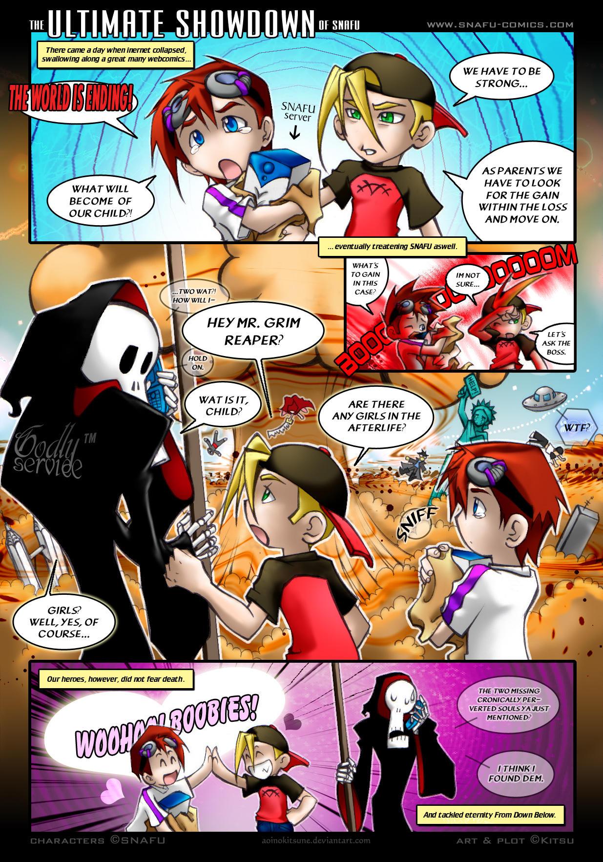 The Ultimate Showdown of SNAFU by AoiNoKitsune