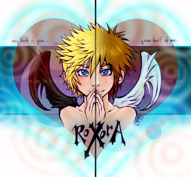 KH - RoXorA - 4SanctuaryDreams by AoiNoKitsune