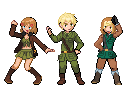 my famaly as pixels!! by theres-a-hero-in-me
