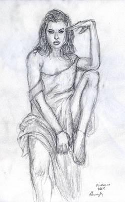 Angelina Sketch 2