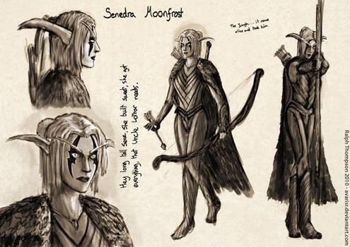 Character Concept - Senedra