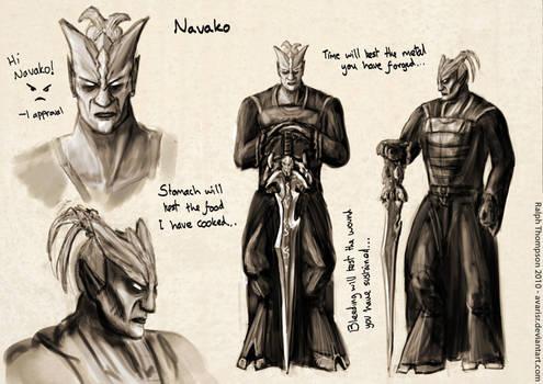 Chracter Concept - Navako