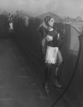 Legion Archer Sketch