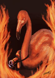 Flaming-o