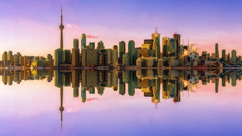 Toronto Mirror by SimonVelazquezArt