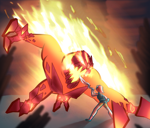 Fire fight by SammytheStorm