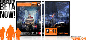 Tom Clancy's The Division Cover Box Art
