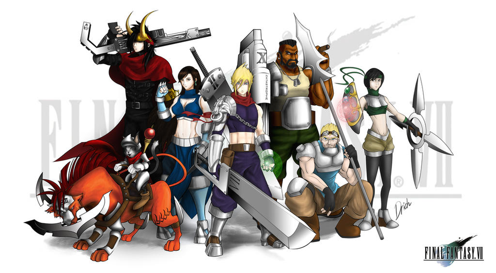 Team Final Fantasy VII by DricheeChung