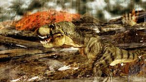 Wallpaper - the last T-Rex