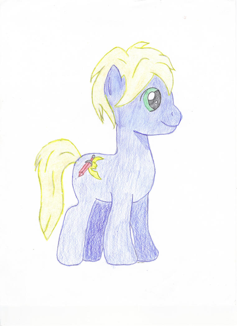 Pony OC Dark Moon by FallenSunshine