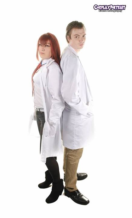 Rintaro Okabe and Kurisu Makise by imposibilities