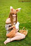 I am Holo the Wise Wolf and I am a very proud wolf