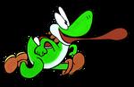 05: Yoshi (Yarn) by Sprited64