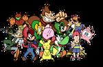 Super Smash Broooooothers!! by Sprited64